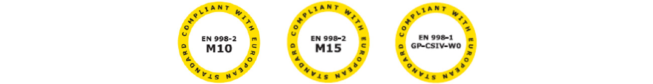 Malta Strutturale Phase - Malta antisismica - Certificazioni 2
