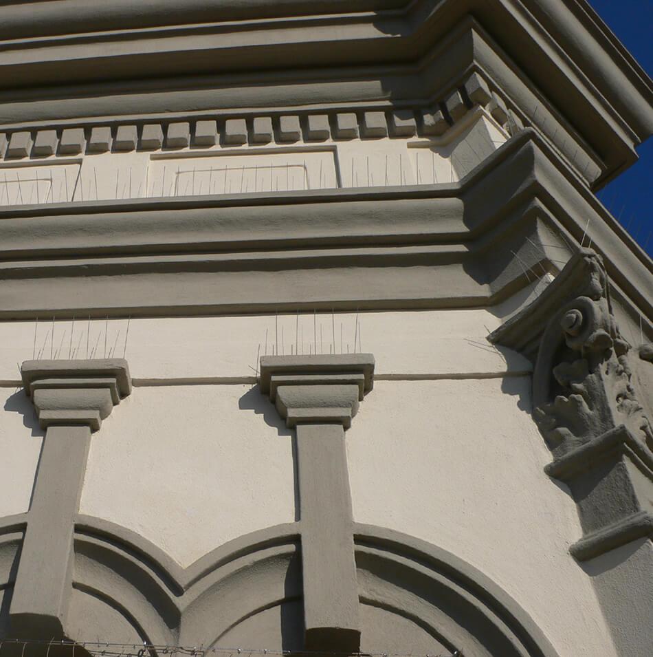 Rasante PHASE - Rasante per esterni - Esempio di applicazione di Rasante PHASE su edificio storico   Phase Restauro