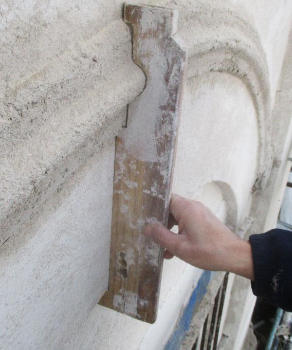 Malta modellabile PHASE - Malta da ricostruzioni - Esempio di ricostruzione 4 | Phase Restauro